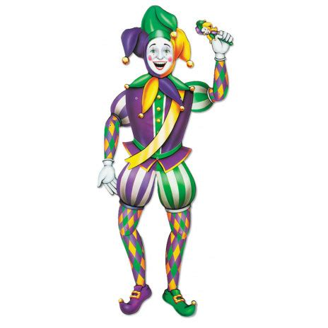jointed jester cutout  mardigrasoutletcom