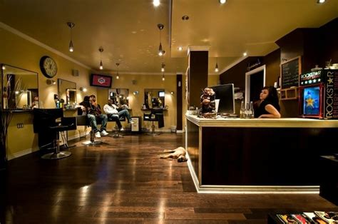 barber shop design ideas high end barber shops salon ideas for