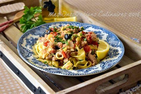 pates au thon recette pates au thon tomates et olives le cuisine de samar