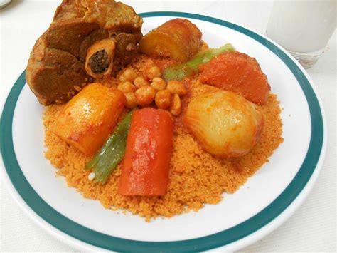 cuisine couscous couscous à l 39 agneau tunisian couscous with