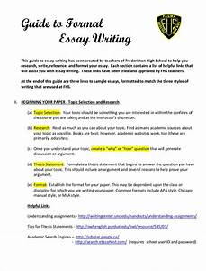 Free 9  Samples Of Formal Essays In Pdf