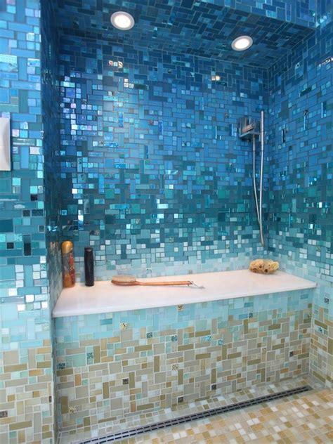 best 25 mosaic tile bathrooms ideas on new
