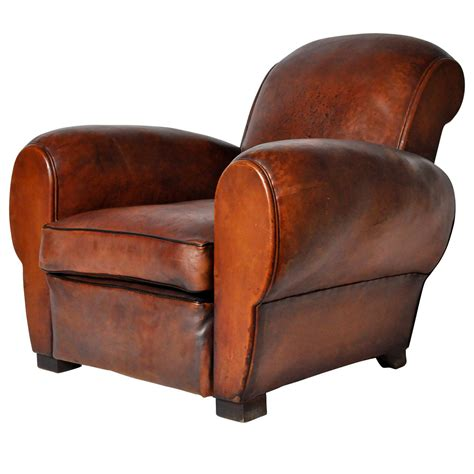 leather recliners antique vintage leather club chair at 1stdibs 3700