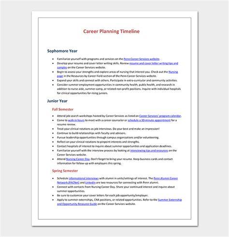 career timeline template    word  dotxes