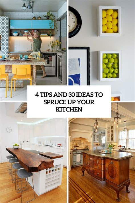 Kitchen Spruce by 4 Tips And 30 Ideas To Spruce Up Your Kitchen Digsdigs