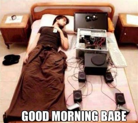 Sleeping Alone Meme - good morning babe quotes quotesgram