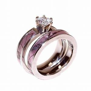 beautiful cheap matching wedding bands for him and her With camo wedding and engagement rings