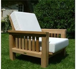 Mobilier D Extérieur : mobilier d 39 ext rieur en teck fauteuil la hutte ~ Teatrodelosmanantiales.com Idées de Décoration