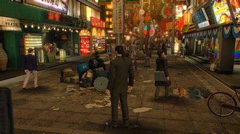 yakuza  review rock paper shotgun