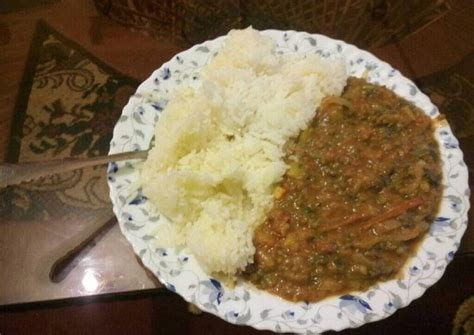 This may take up to four days. Easiest Way to Prepare Tasty Margarine Rice & Spicy Green ...