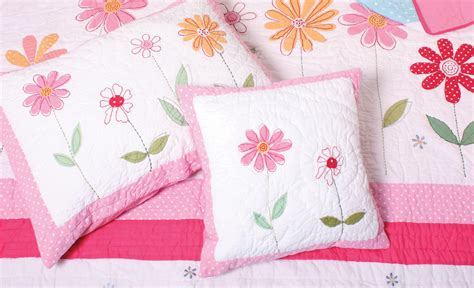 Childrens Bed Linen From Linen Lace And Patchwork