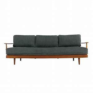 Knoll Antimott Sofa : 1960s teak daybed knoll antimott germany mid century ~ Sanjose-hotels-ca.com Haus und Dekorationen