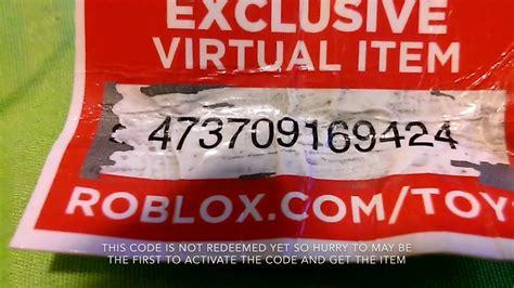 roblox toy codenot redeemed  read desc