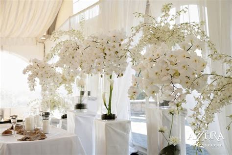 decoration salle mariage orchidee