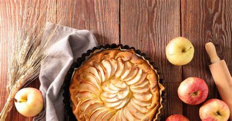 recette tarte aux pommes  la flamande pate levee