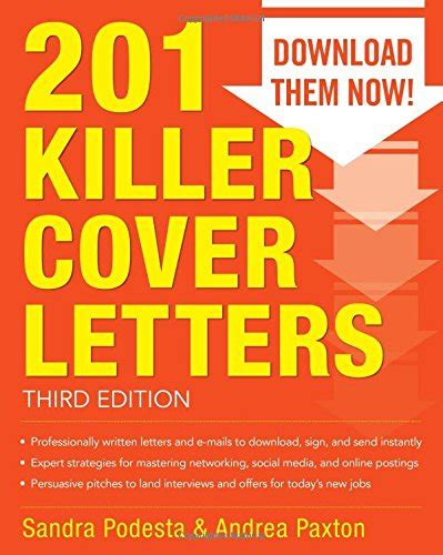 201 Killer Cover Letters by 201 Killer Cover Letters Third Edition Avaxhome