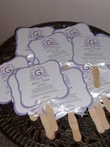 fan wedding programs wedding fans wedding fan program wedding program by