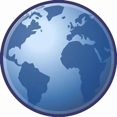 Globe Svg Earth Clip Clipart Emblem Internet