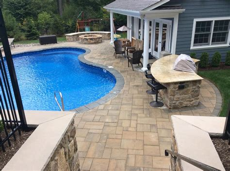 unilock products earth turf blooms landscape contractors of chester nj