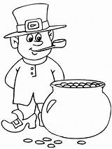 Leprechaun Coloring Patrick Saint Homme Ausmalbilder Pipe Sa Coloriage Bestcoloringpagesforkids Printable Sheets Kobold Malvorlagen Kolorowanki Without Dzieci Krasnoludek Dla Kinder sketch template