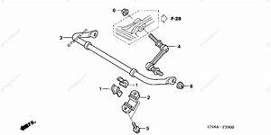 Honda Atv 2006 Oem Parts Diagram For Stabilizer