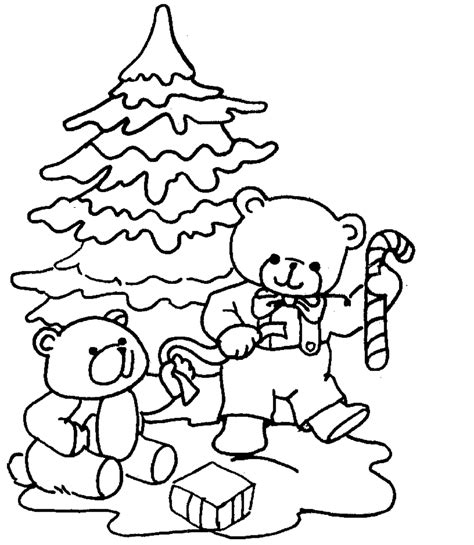 Free coloring pages of christmas placemat