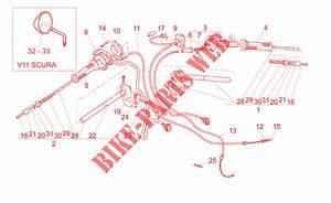 Handlebar Controls For Moto Guzzi V 11 Le Mans