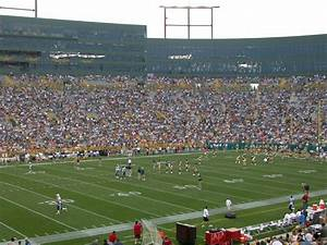 Lambeau Field Seating Chart With Rows Lambeau Field 5 20 Yard Line Seats Mid Rows Event Usa