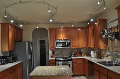 16 Functional Ideas Of Track Kitchen Lighting