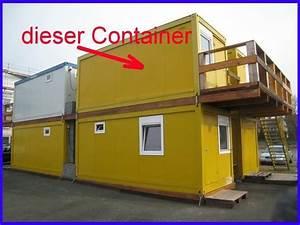 Wohncontainer Zu Verschenken : wohn container mit wc dusche k che poliercontainer ~ Jslefanu.com Haus und Dekorationen