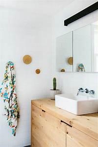 Diy Meuble Salle De Bain : meuble salle de bain bois 35 photos de style rustique ~ Mglfilm.com Idées de Décoration