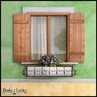 wood exterior shutters Barn and Reclaimed Wood Shutters - Outdoor | Hooks & Lattice