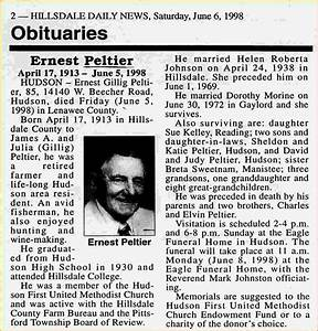 2 obituary example teknoswitch With obituaries examples templates