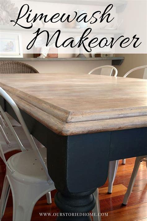 make kitchen table limewashed table makeover just random stuff kitchen