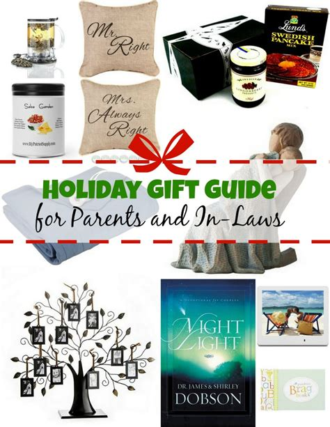 holiday gift guide for parents and in laws