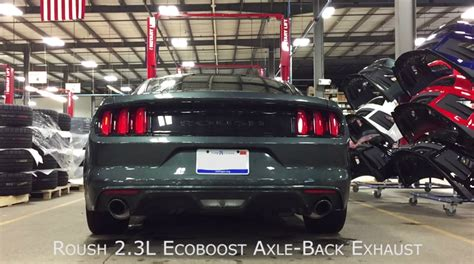 2018 Ford Mustang Ecoboost V6 Sound Furious With Roush