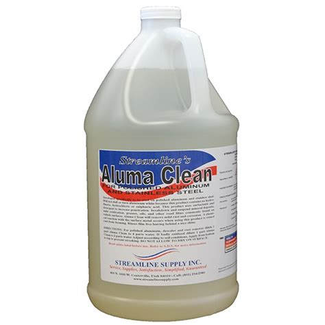 aluminum brightener  polished aluminum streamline supply