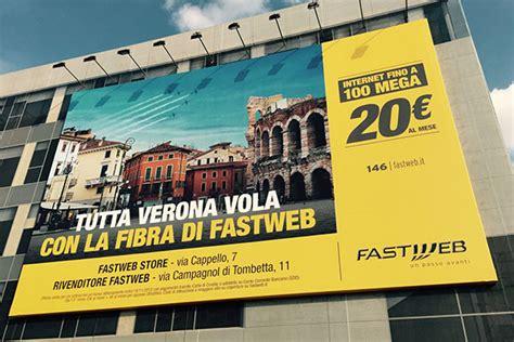 Ufficio Commerciale Fastweb by Fastweb Maxi Affissione A Verona