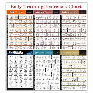 Bodybuilding Workout Chart With Images