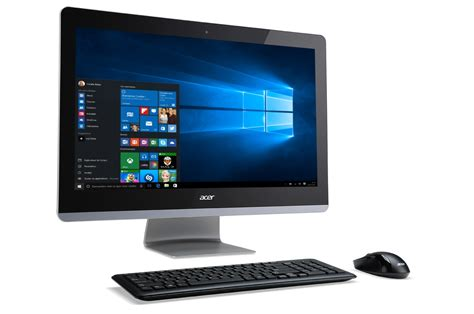pc de bureau boulanger pc de bureau acer aspire z3 715 001 4248724 darty