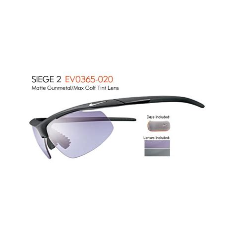siege nike nike siege 2 e sunglasses engineered for golf