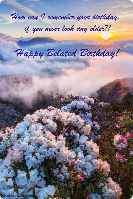 belated birthday wishes  friend  images