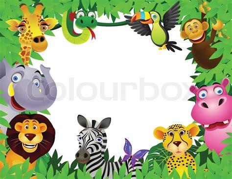 animal   jungle stock vector colourbox