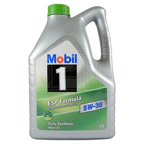Mobil 1 Esp Formula 5w 30 Fully Synthetic Engine 5w30 Mobil1 5 Litres 5l Ebay