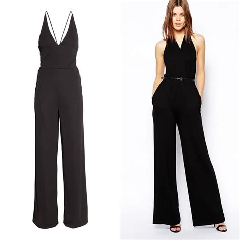 and black jumpsuit get the look for less rihanna 39 s black jumpsuit