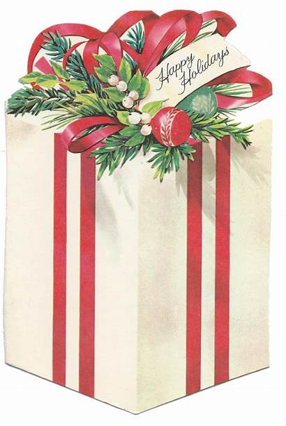 Christmas Gift Clip Present Package Packages Clipart
