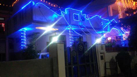 Decorative Lights For Home by Diwali House Light Decoration