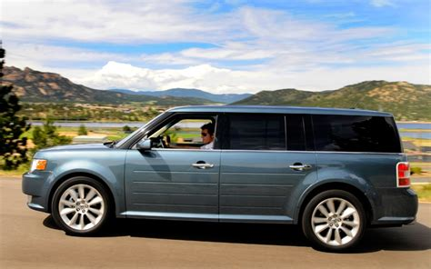 ford flex sel ecoboost  drive  review motor