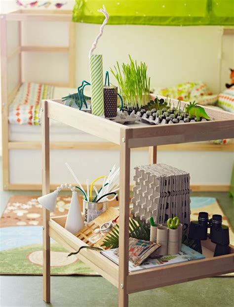 table 224 langer ikea en bois utilis 233 e comme plan de travail pour des semis et des projets de