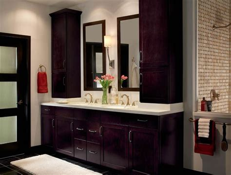 Using Kitchen Cabinets In Bathroom by 22 Best Master Bathroom Center Cabinets Images On